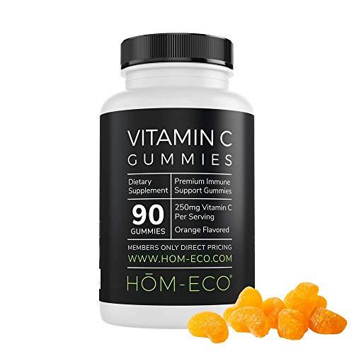 Vitamin C Gummies by HomEco, Gummy Vitamins