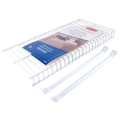 Rubbermaid Wire - Rubbermaid Wire Shelving Linen, 2 by 12-Inch, Metal