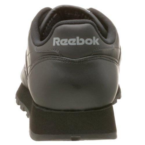 Reebok Heren Klassieke Lederen Sneaker Zwart