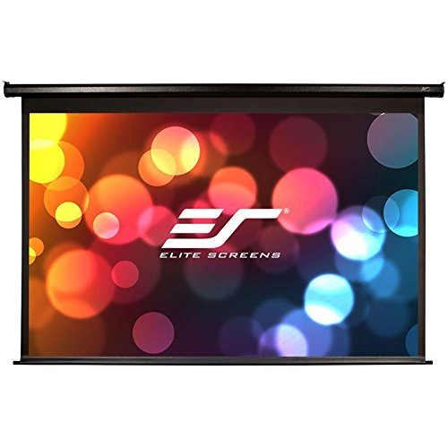 Elite Screens VMAX2, 100-inch 4:3, Wall Ceiling Electric Motorized Drop Down HD Projection Projector Screen, VMAX100UWV2 by Elite Screens (Image #1)'