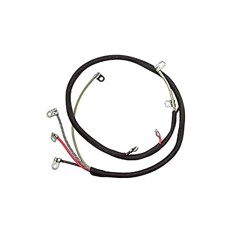 amazon com: macs auto parts 1655701 model t commutator wiring harness 4wire  for cars with engine mounted coil box: automotive