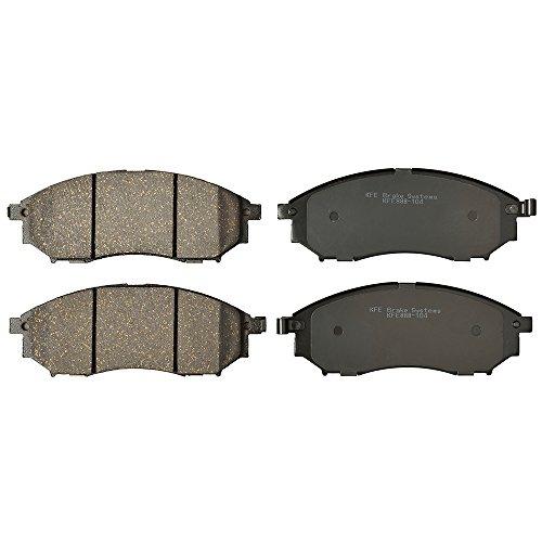 KFE Ultra Quiet Advanced KFE888-104 Premium Ceramic FRONT Brake Pad Set