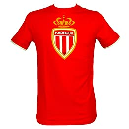 AS MONACO T-Shirt Homme Officiel - Rouge