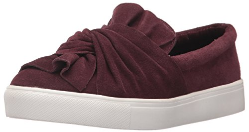 MIA Women's Zahara Fashion Sneaker, Burgundy, 7.5 M US