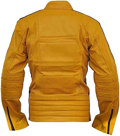 Prime-Fashion Kill Bill - Chaqueta de Piel para Motocicleta para ...