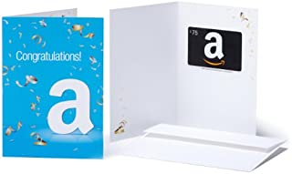 Amazon.com $75 Gift Card in a Greeting Card (Congratulations Design) (BT00CTP884) | Amazon price tracker / tracking, Amazon price history charts, Amazon price watches, Amazon price drop alerts