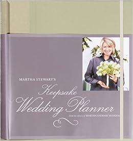 martha stewart s keepsake wedding planner martha stewart living