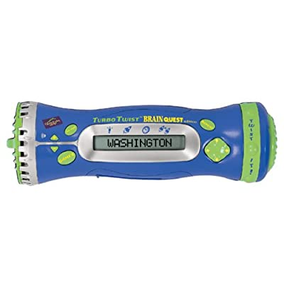 LeapFrog Quantum Leap Turbo Twist Brain Quest Handheld, Leap Frog, Teaches Social Studies, Science, English and More: Toys & Games