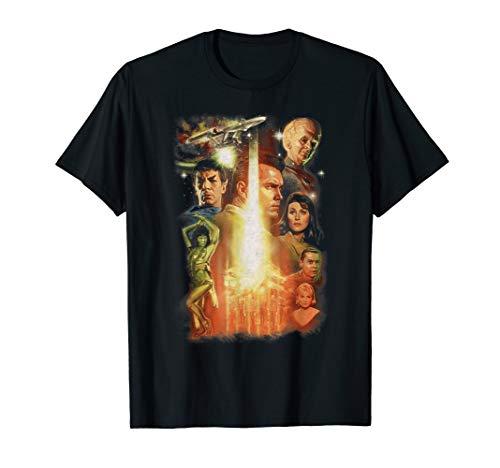 (Star Trek Cast Group Shot T-Shirt)