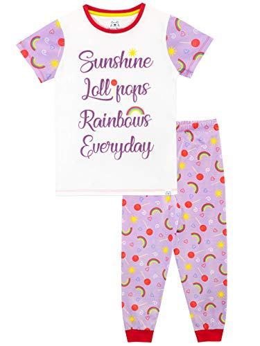 Harry Bear Meisjes Pyjama's Regenbogen en Lollies
