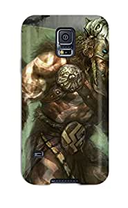 Hot New Magic Gathering Fantasy Case Cover For Galaxy S5 With Perfect Design Sending Screen Protector in Free