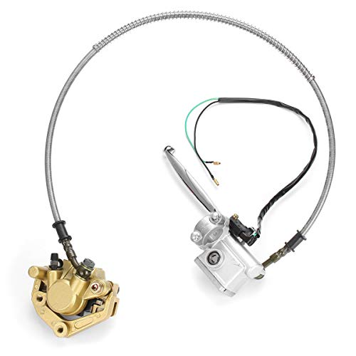Brake Clutch Lever Front Disc Brake Caliper Adaptor Hydraulic System For Honda Monkey z50 bike z50R: