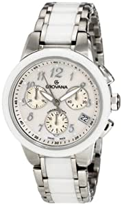Grovana Women's 5094.9189 Fashion Analog Mother-Of-Pearl Watch