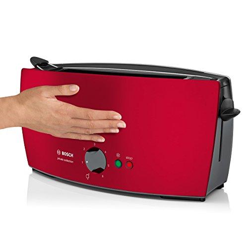 bosch tat6004 langschlitz toaster private collection 900 watt max k chenausstattung. Black Bedroom Furniture Sets. Home Design Ideas