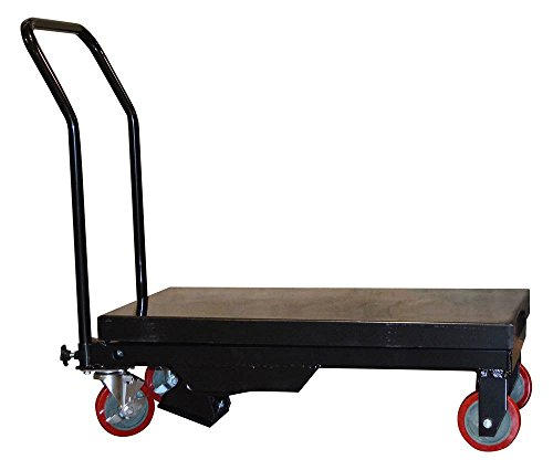 Buffalo Bull Table Cart