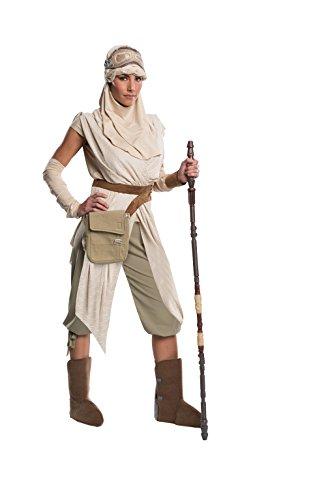 [Rubie's Women's Star Wars Episode VII: The Force Awakens Grand Heritage Rey Costume, Multi, Large] (Star Wars Darth Vader Adult Plus Costumes)