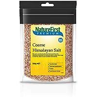 NatureFirst Coarse Himalayan Pink Salt 500 g, 500 g