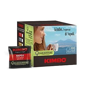 Kimbo Cialde Compostabili Napoli - 100 Cialde