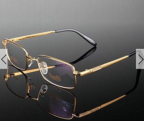 Metal Full-Rim Glasses Frame for Reading Myopia Eyewear Spectacles by - Glasses Polish Frames
