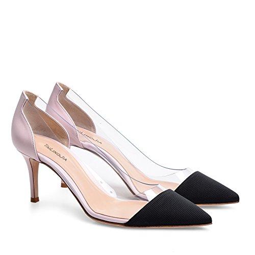 Business Stiletto XUE Wedding Pointues PU Work Femmes t C Taille Chaussures Chaussures Couleur Soire Soire Talon Printemps Une Mariage Talons Robe 41 Formelle wTwqYZr