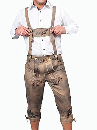 Traje pantalón largo hasta la rodilla Incluye Tirantes para hombre ...