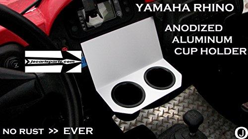 Yamaha Rhino Center Dash Dual Cup Holder Anodized (Rhino Dash)