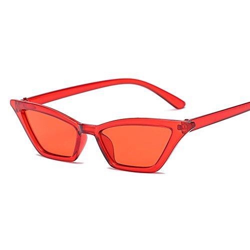 de mujer C7 de pequeño sol TL de gafas Retro LAF2154 LAF2154 Ojo Sunglasses Gafas gafas Gato sol C4 de U4qSwIz