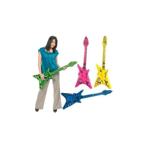 - Fun Express 42 Inflatable V Guitar (3-Pack; Colors Vary)
