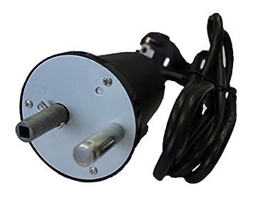 Andreas Dell Motor para Barbacoa Carbón Vegetal Barbacoa Motor pincho Giratorio Barbacoa abatibles 230 V/