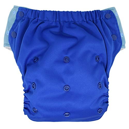 Hybrid Cloth Diaper - Reusable Training Pants or Reusable Swim Diaper, Newborn Baby to 10 Years (Size 2/15-35Lb, -