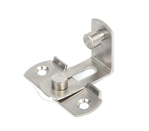 2 Large 90 Degree Right Angle Door Latch Buckles Curved Latch Bolts Sliding Lock Lever Bolts for Doors and Windows by ming (Image #4)