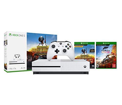 Xbox One S Forza Horizon 4 PUBG Bonus Bundle: Xbox One S 1TB Console, Forza Horizon 4, Playerunknow's Battleground
