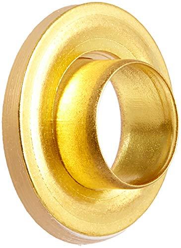 Dritz 730-37 2-Part Eyelets, Matte Gold, 1/4-Inch 15-Count ()