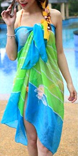 PRESKIN - verano pareo falda del abrigo del mantón pañuelo para el cuello de la playa | sol proteccíon | beach bikini cover up