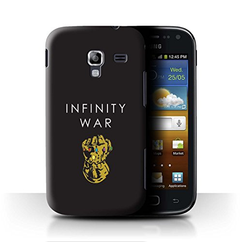 ver for Samsung Galaxy Ace 2/I8160 / Infinity Gauntlet Art Design/Infinity War Inspired Collection ()