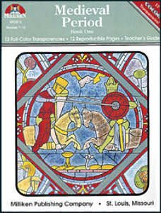 Medieval Period-Book 1 (w/transparencies) by MILLIKEN PUBLISHING
