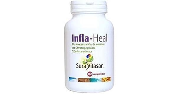 Infla Heal 180 comprimidos de Sura Vitasan: Amazon.es: Salud ...