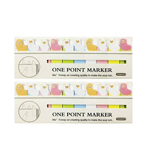 - Wrapables Bookmark Flag Tab Sticky Notes, Sheep, Set of 2
