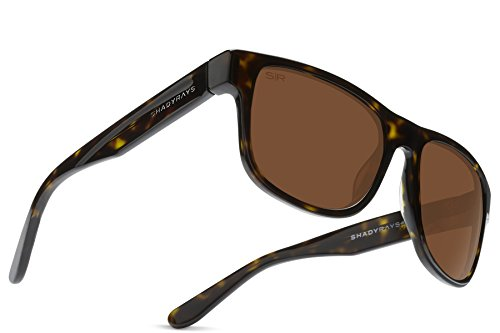 Shady Rays Sunglasses Ventura Limited, Amber, Tortoise, Polarized