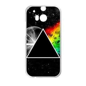 Pink Floyd HTC One M8 Cell Phone Case White GYK70345