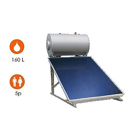 Agua caliente solar 1 Sensor + Balón 160 litros – eklor