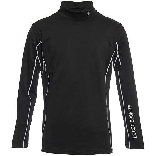 [ルコックゴルフ] メンズ 長袖 シャツ ブラック QG1076 N151 M