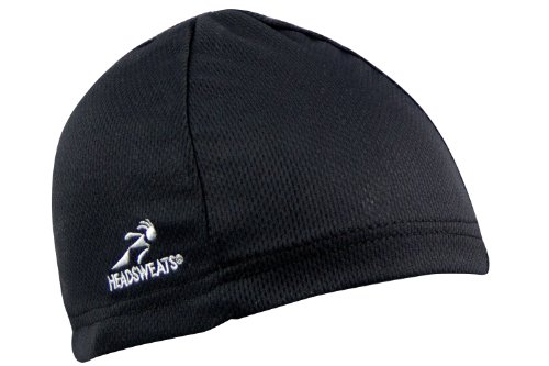 Headsweats Skullcap Beanie, Black, One Size (Headsweats Black Hat)