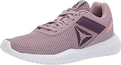 Reebok Women's Flexagon Energy TR, Lilac Fog/Urban Violet/White/Guava Punch, 8.5 M US
