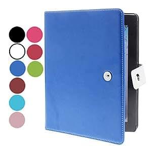 HOR Litchi patrón PU cuero caso completo del cuerpo con la ranura para tarjeta para iPad 2/3/4 (colores opcionales) , Marrón