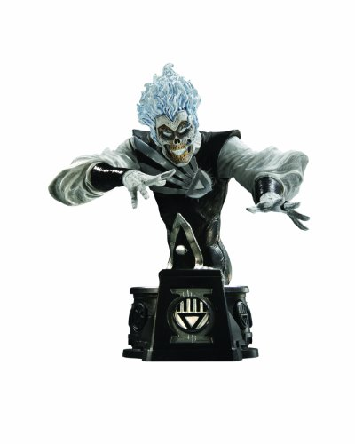DC Direct Heroes of The DC Universe: Blackest Night: Black Lantern Firestorm Bust