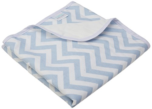 Kushies Baby Deluxe Change Pad, Blue (Kushies Washable Diaper Liners)