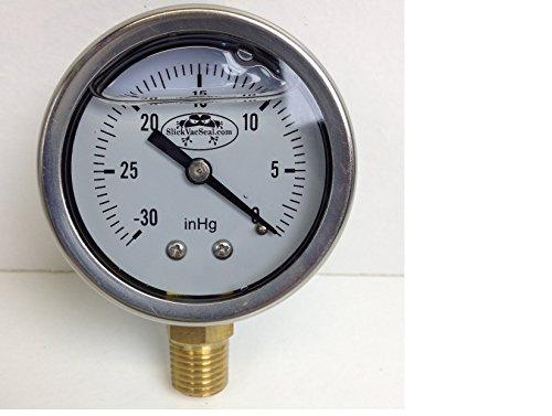 vacuum gauge hg stainless - 2