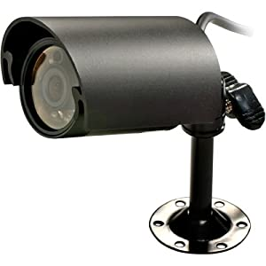 SPECO CVC-320WP B/W Waterproof Bullet with IR LED and 60-foot Cable by SPECO TECHNOLOGIES