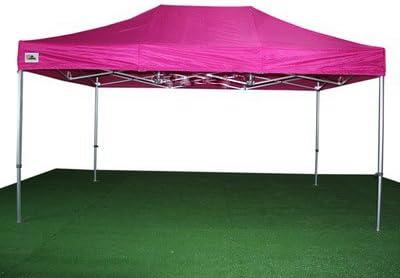 Carpa Plegable 3x4.5 de Aluminio Reforzado color Rosa: Amazon.es: Jardín